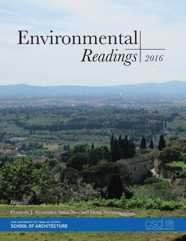 Environmental Readings 2016