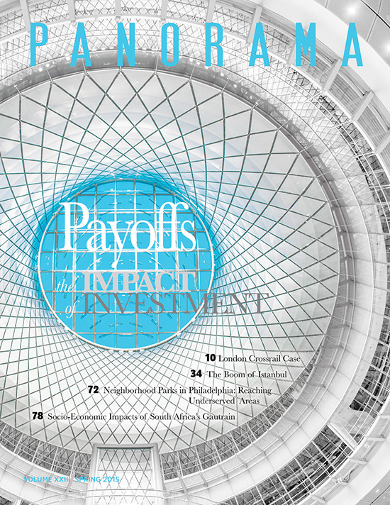 Cover of publication Panorama 2015: Payoffs, the Impact of Investment