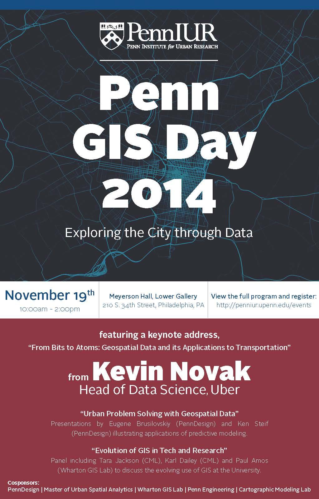 Poster for Penn GIS Day 2014
