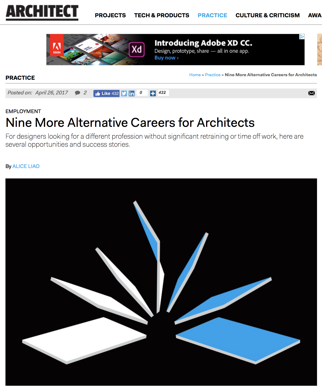 Article: Nine more alternative careers for architects