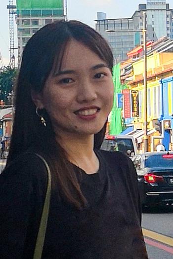 Headshot of Design Fellow, Joanne Yuan Zheng.
