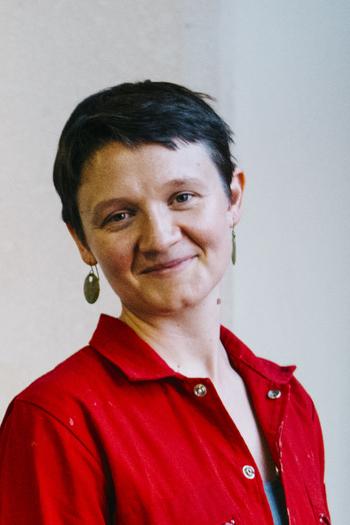 Headshot of Design Fellow, Aislinn Pentecost-Farren.