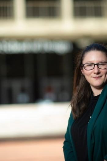 Headshot of Design Fellow, Jennifer Boggs.