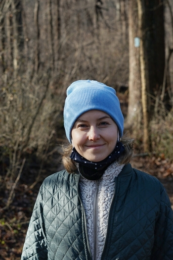 Headshot of Design Fellow, Alice Bell.