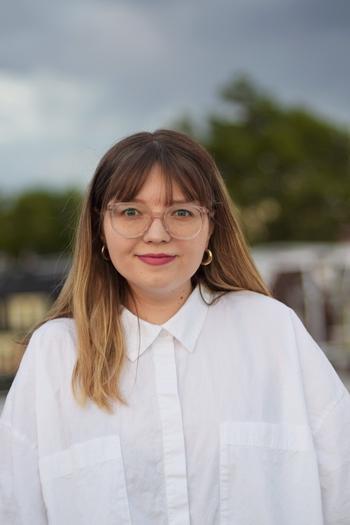 Headshot of Design Fellow, Julia Marchetti.