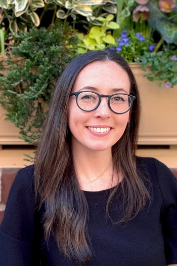Headshot of Design Fellow, Isabel Harner.