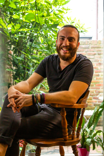 Headshot of Design Fellow, Hadi El Kebbi.