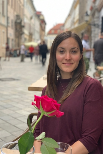 Headshot of Design Fellow, Emily Kennedy.