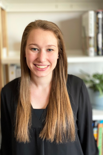 Headshot of Design Fellow, Jenna Epstein.
