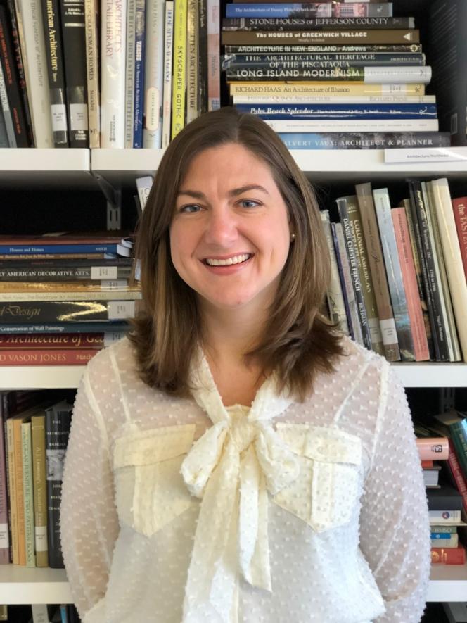 a headshot of Anne Nelson