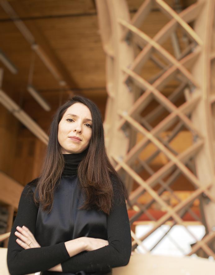 Dorit Aviv portrait