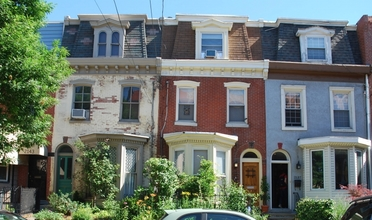 Row houses in Philadelphia