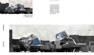 Building with chaotic geometric shape and no clear pattern of flow to its layout
