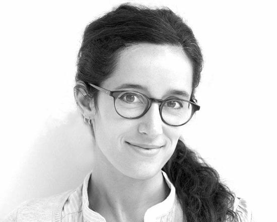 black and white headshot of Laia Mogas-Soldevila