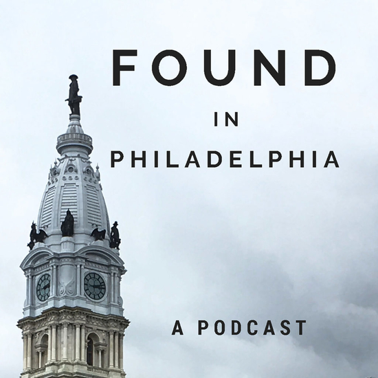 Podcast banner featuring City Hall's Tower