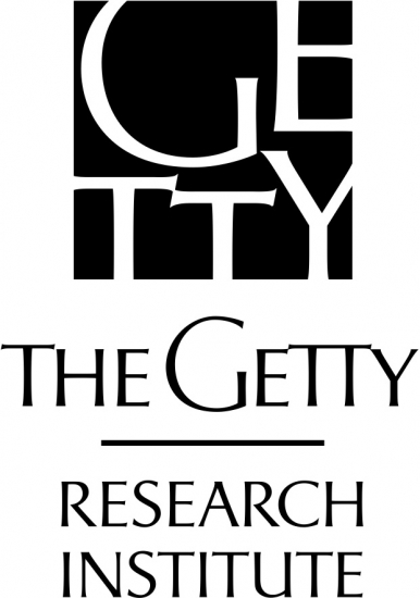"Logo saying ""The Getty Research Institute"""