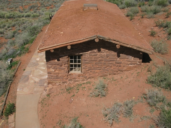 Historic structure in Pipe Spring National Park.