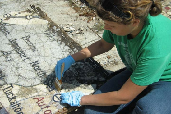 Conservation of map tile. (ACL)