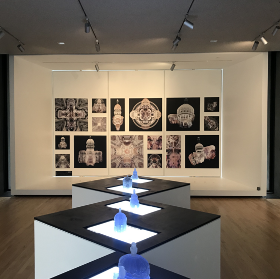 Baroque topologies gallery display