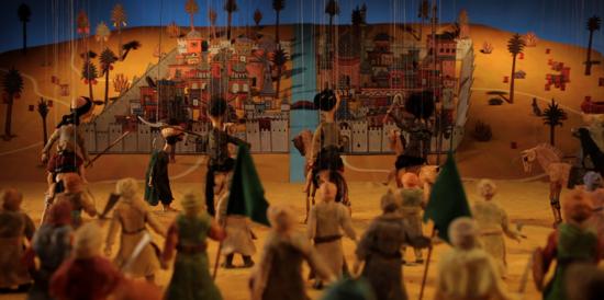 Still from Shawky's video work