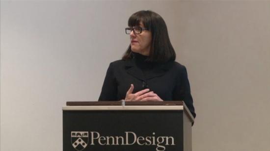 Susan Macdonald lectures at PennDesign