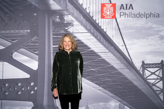 Portrait of Susan Maxman at AIA Philadelphia Awards