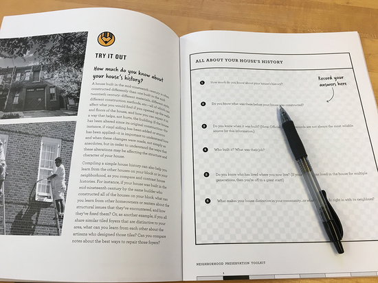 Questionnaire in Neighborhood Preservation Toolkit
