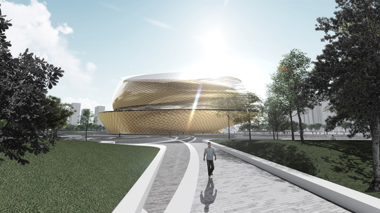 Winka Dubbeldam's winning submission for the the Asian Games Sports Park Competition 2018