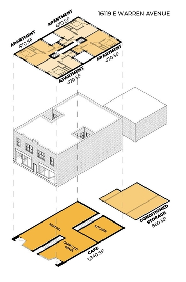 Hanna Stark provides schematic designs, following tactical preservation principles, for Smoken' Aces in Detroit.