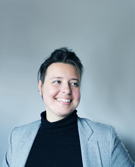 Headshot of Design Fellow, Agatha Sloboda.