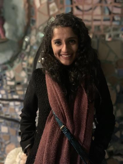 Headshot of Design Fellow, Ashna Jaiswal.