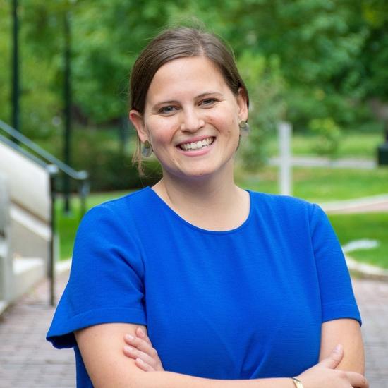 Headshot of Design Fellow, Emily Blanton.