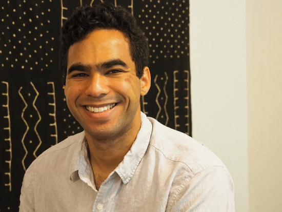 Headshot of Design Fellow, Maxwell Johnson.
