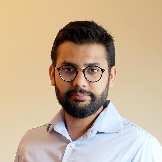 Headshot of Design Fellow, Umar Mahmood.