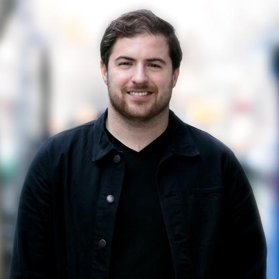 Headshot of Design Fellow, Matthew White.