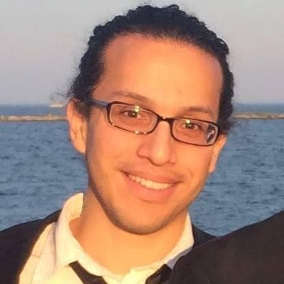 Headshot of Design Fellow, Enrique Morales.