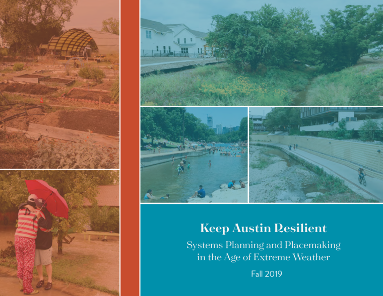 Studio book cover for Keep Austin Resilient