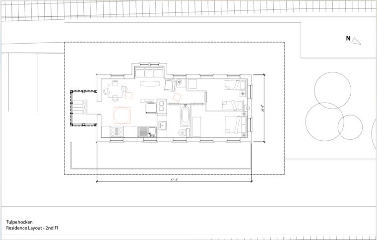 Tulpehocken residence layout floor 2