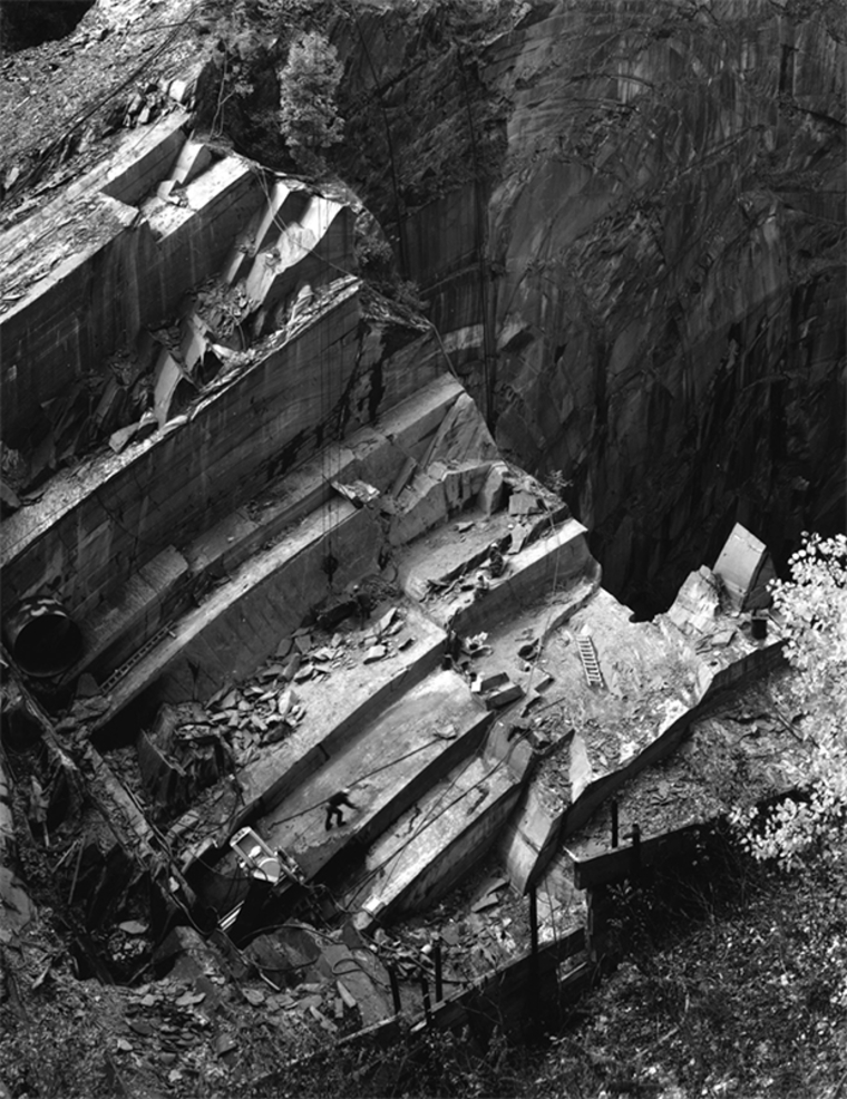Slate Quarry, Slatedale, PA, 2000. Photo by Joseph Elliott