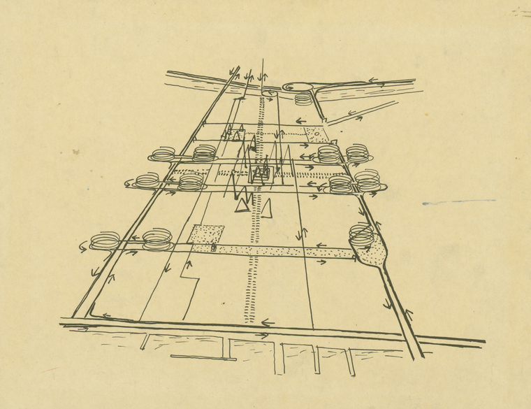 Philadelphia Traffic Study, 1951-53