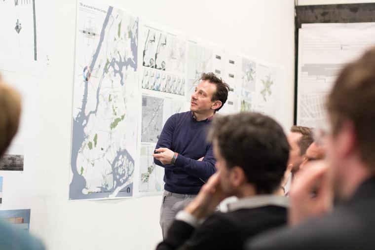 Landscape Architecture Studio Mid Reviews under way