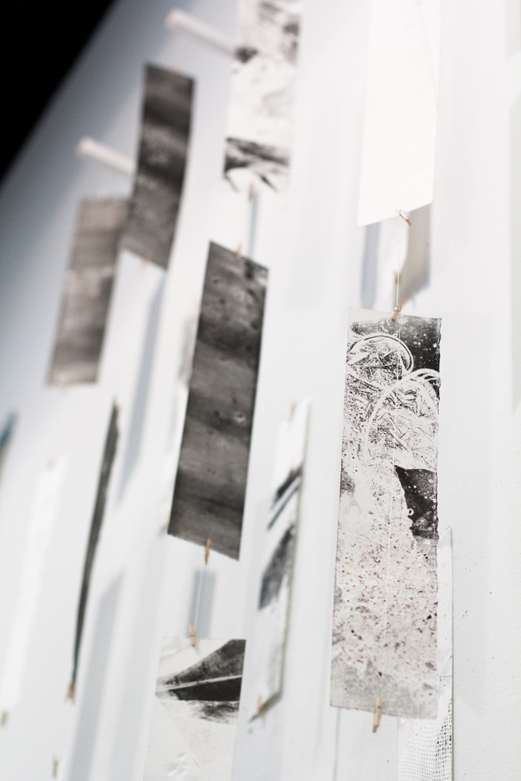 Pieces from terrains of wetness: printmaking and making landscape