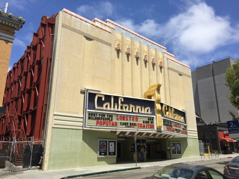 Art Deco theater in Berkeley, California.
