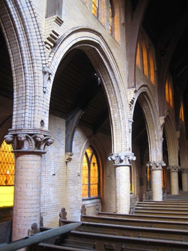 Arches In St. Peter's Church