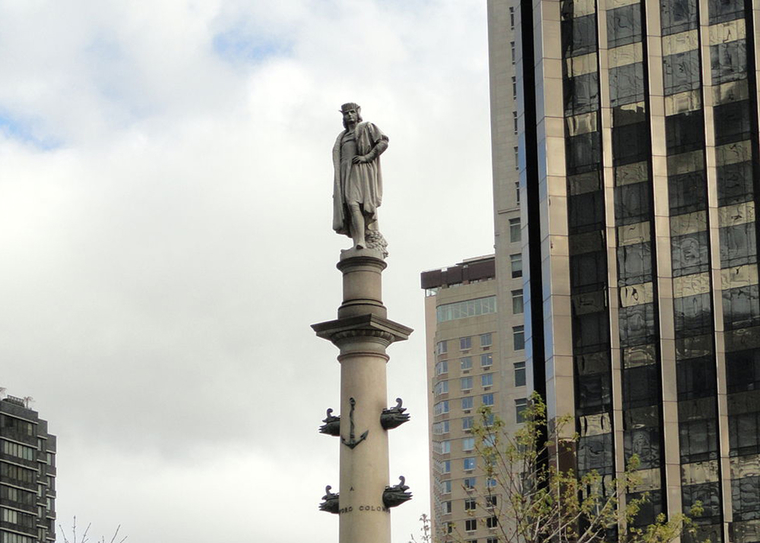 Columbus Monument, Columbus Circle, New York City