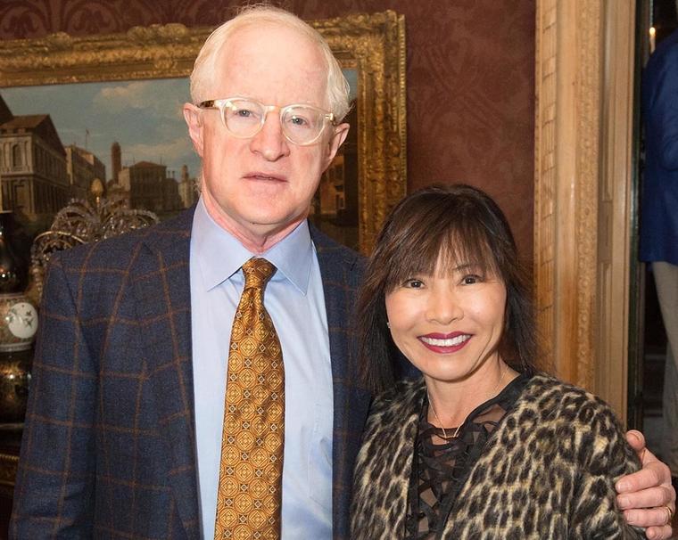 William Witte and Keiko Sakamoto