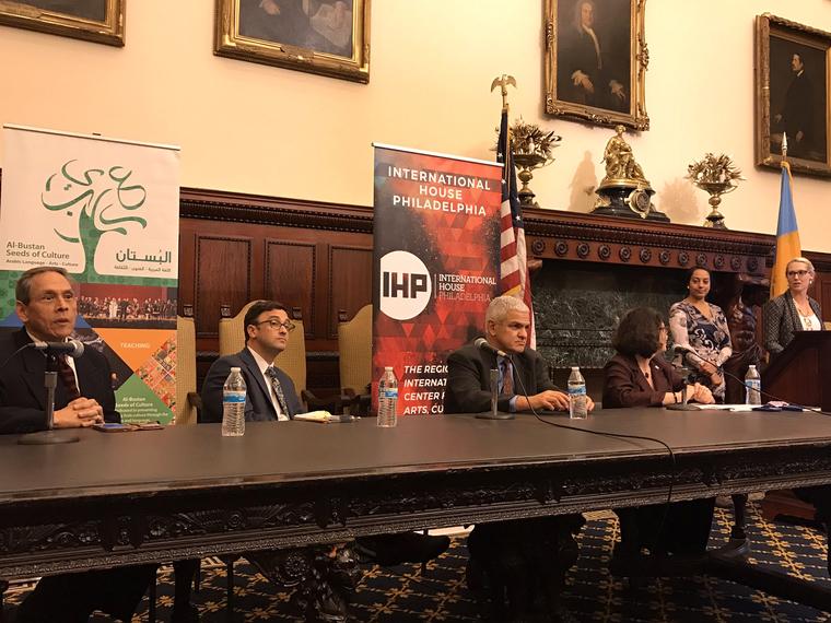 Panel meeting for International house Philadelphia