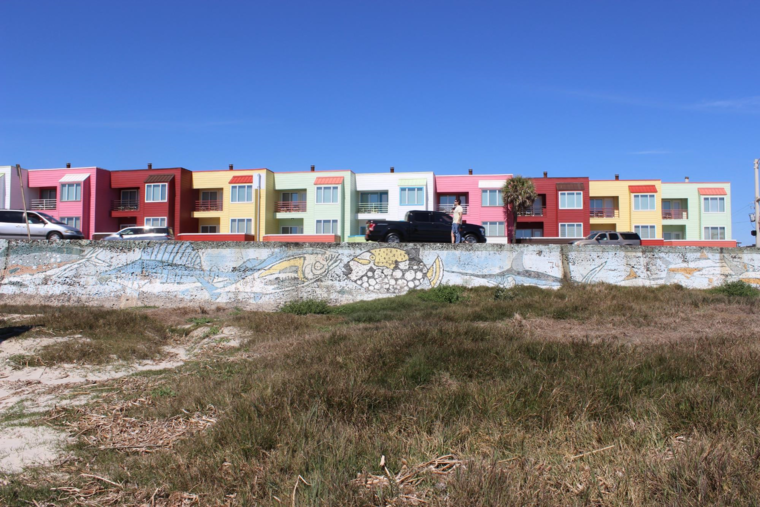 Housing by the ocean
