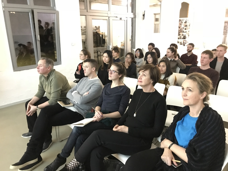 Audience at the Aedes Architecture Forum