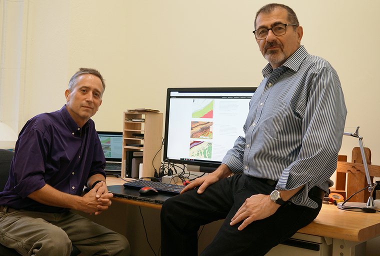 PennDesign's John Hinchman and Frank Matero